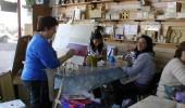 Dibujo y pintura decorativa en Aldeas del Sol