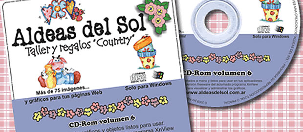 Nuevo CD-Rom volumen 6 - Aldeas del Sol