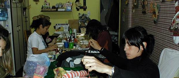Nuestro primer taller de la calle Roma