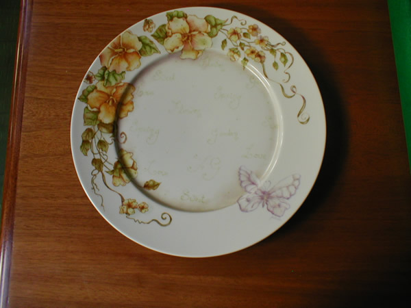 Trabajos de Pintura en Porcelana - Gabriela Fiamingo - Aldeas del Sol