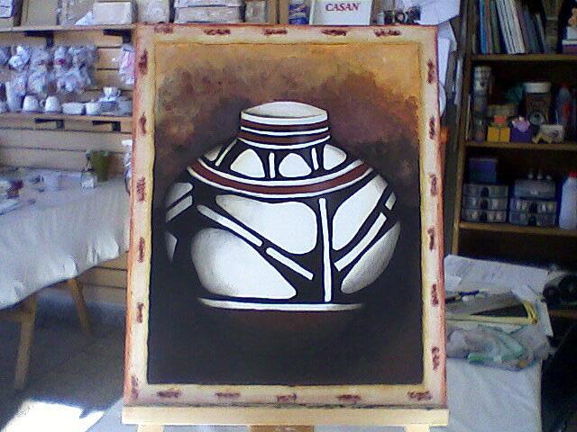 Aldeas del Sol - Trabajos de Pintura Artística realizado por las alumnas