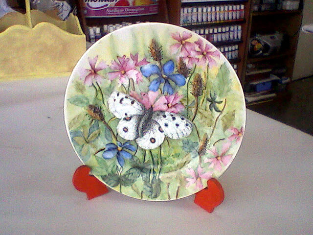 Aldeas del Sol - Trabajos de Pintura en Porcelana de las alumnas