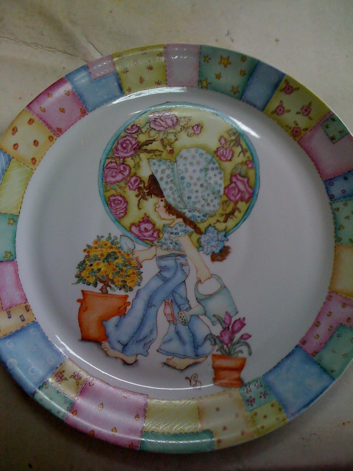Viviana Dimieri - Pintura en porcelana