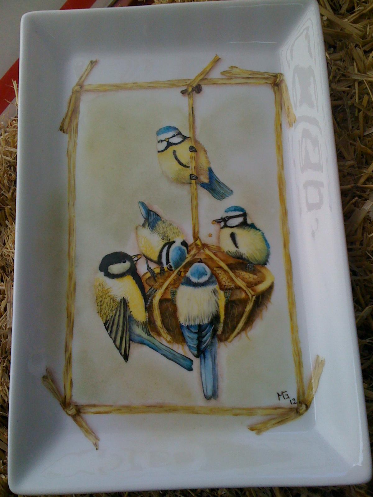 Graciela Pereira- Pintura en porcelana