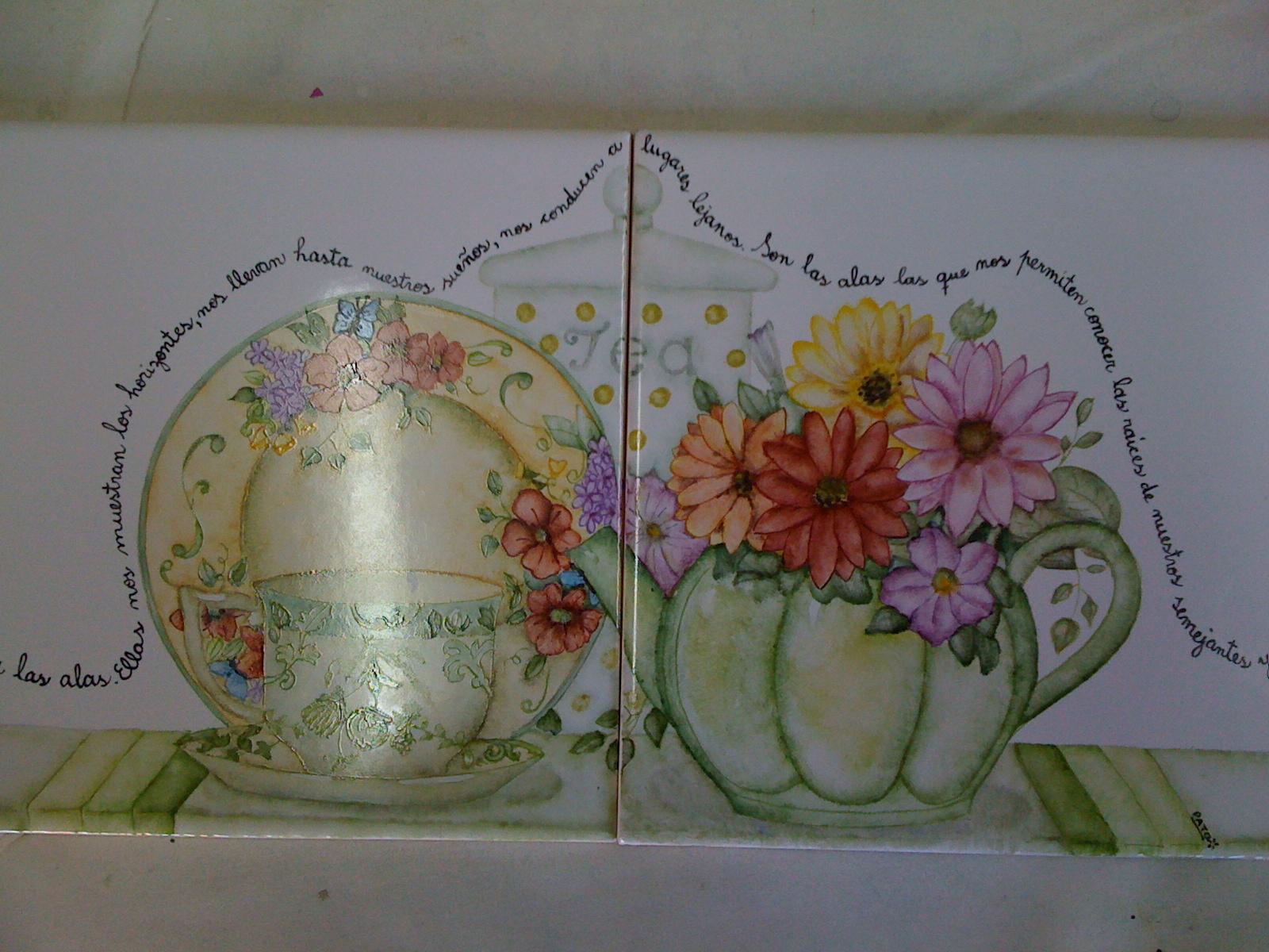 Miriam Querol-Pintura en porcelana