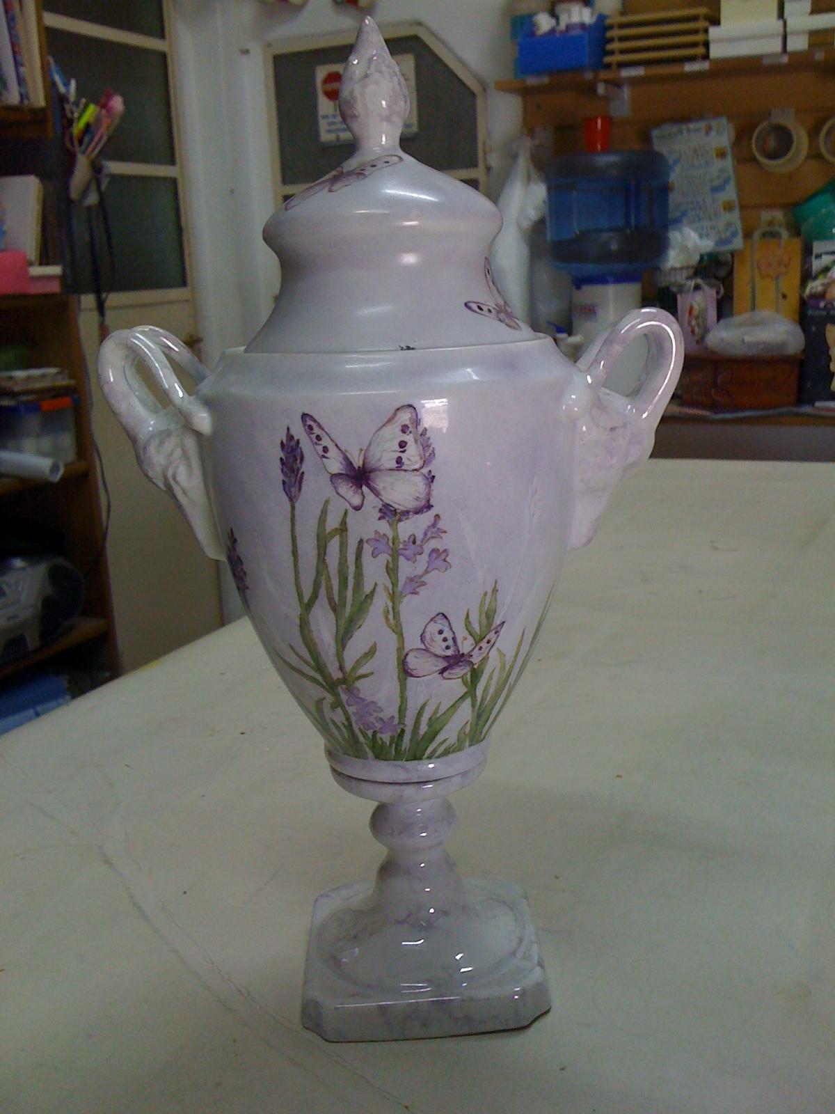 Flora Montevidoni-Pintura en Porcelana