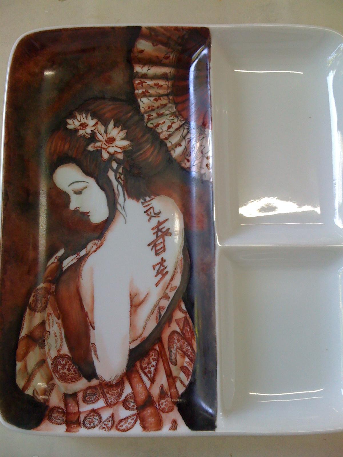 Graciela Cardamone- Pintura en porcelana