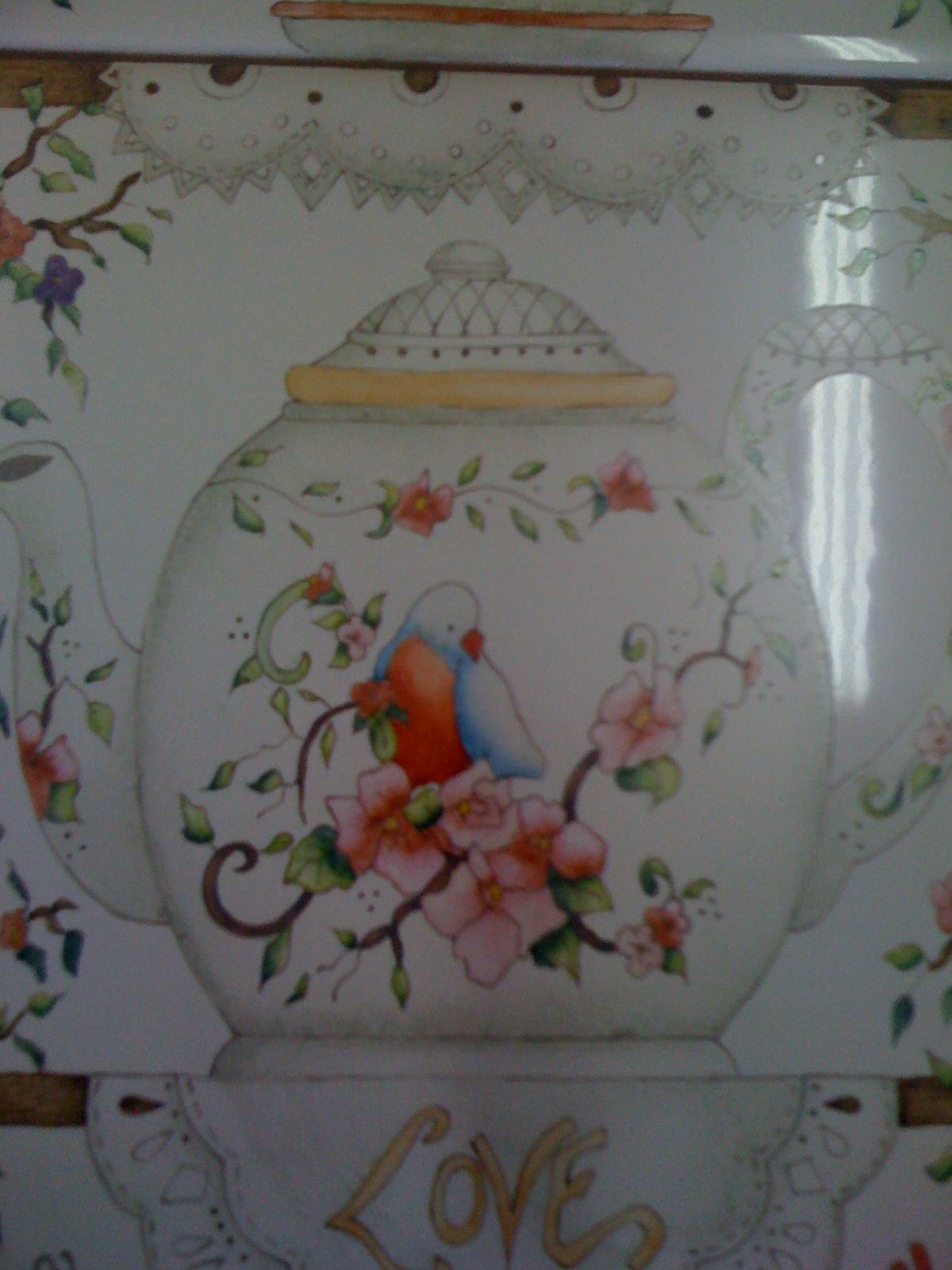 Silvia Rodriguez-pintura en porcelana