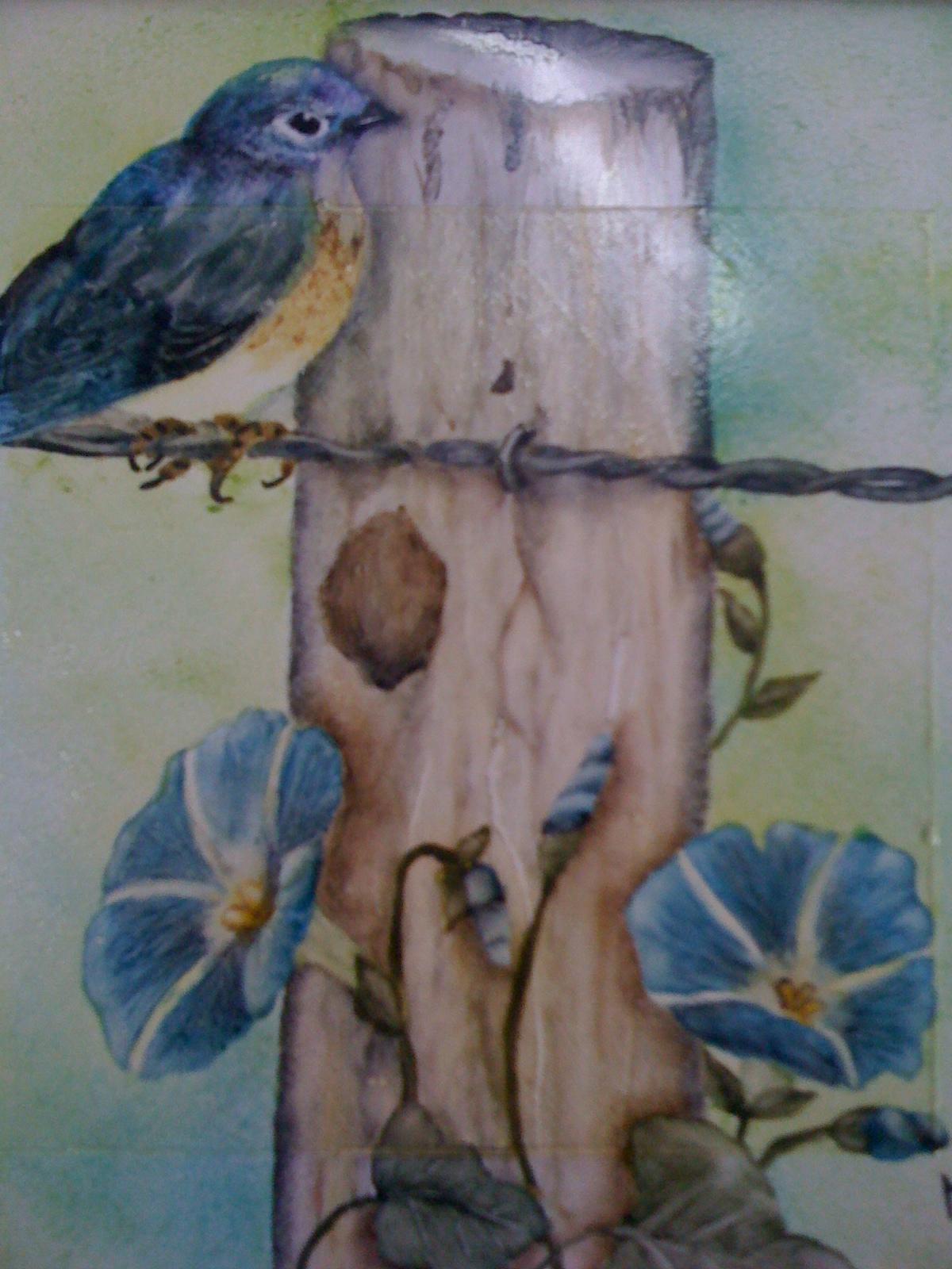 Graciela Pereira-pintura en porcelana