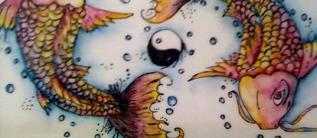 Pintura en porcelana - alumnas